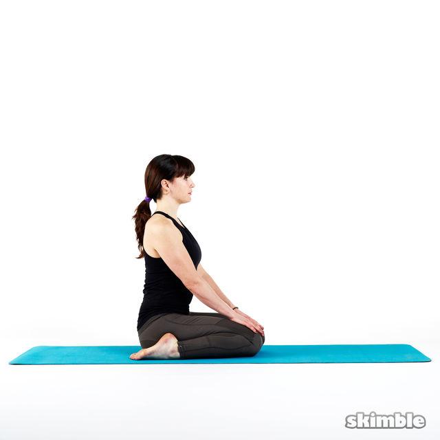 How to do: Hero Pose - Step 1