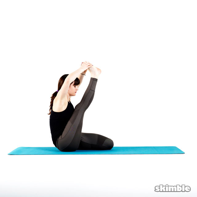 How to do: Heron Pose - Step 5