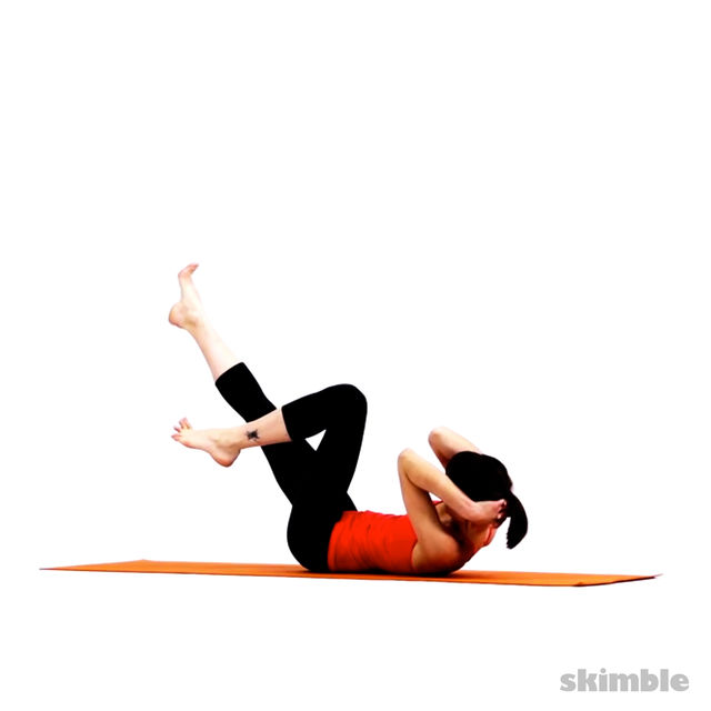 Abdominales planos con yoga