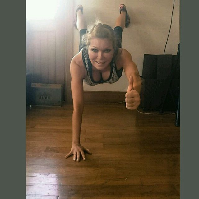 Wall Plank Challenge  (5 Min) !!!! ☆HS