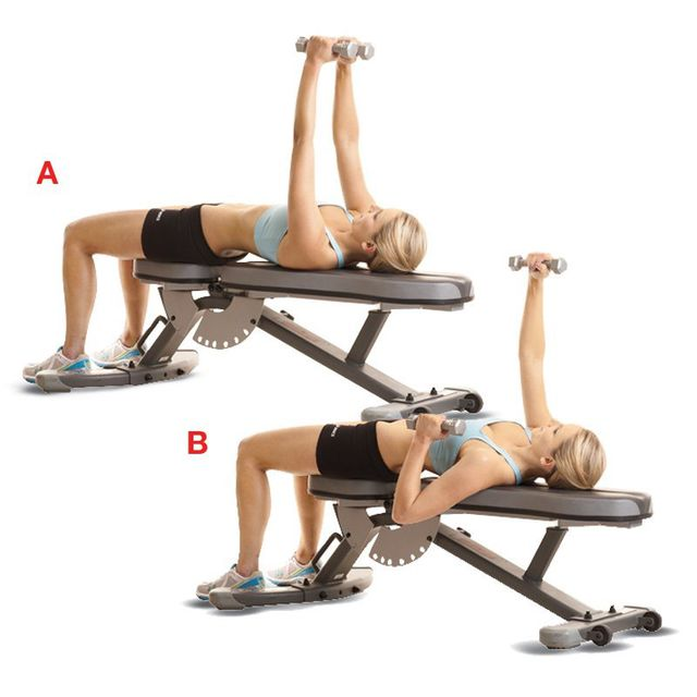 How to do: Alternate Chest Press - Step 1