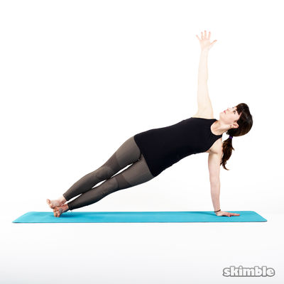 Yoga Side Plank Left