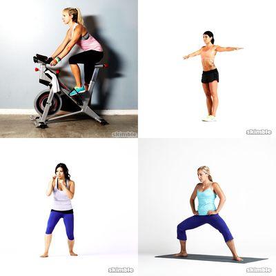 Legs: walk, bike, run, kicks etc...