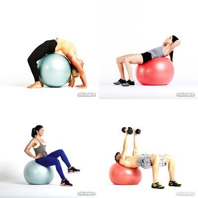 pelota y pesas