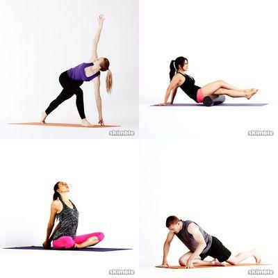 Stretching/yoga