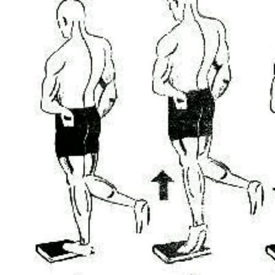 Right Leg Calf Raises