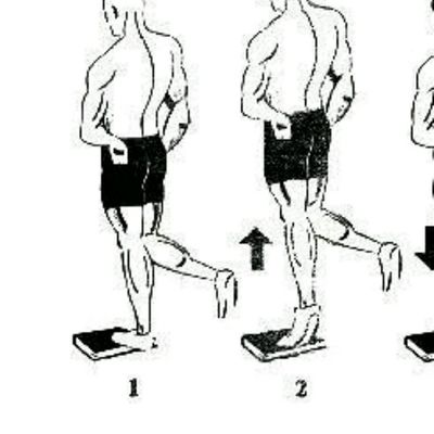 Left Leg Calf Raises