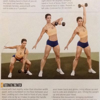 Alternating Snatch