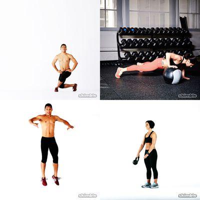 15 - 20 min workouts