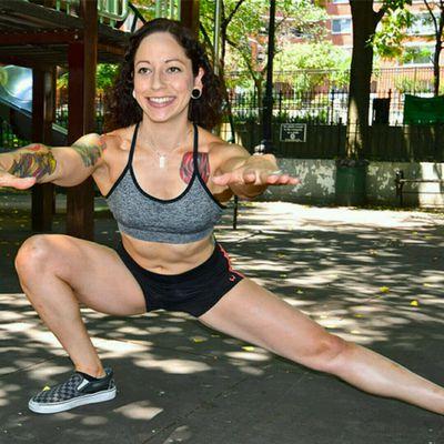 Archer squat