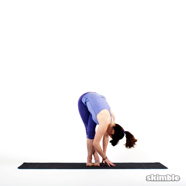 How to do: Left IT Band Stretch - Step 2