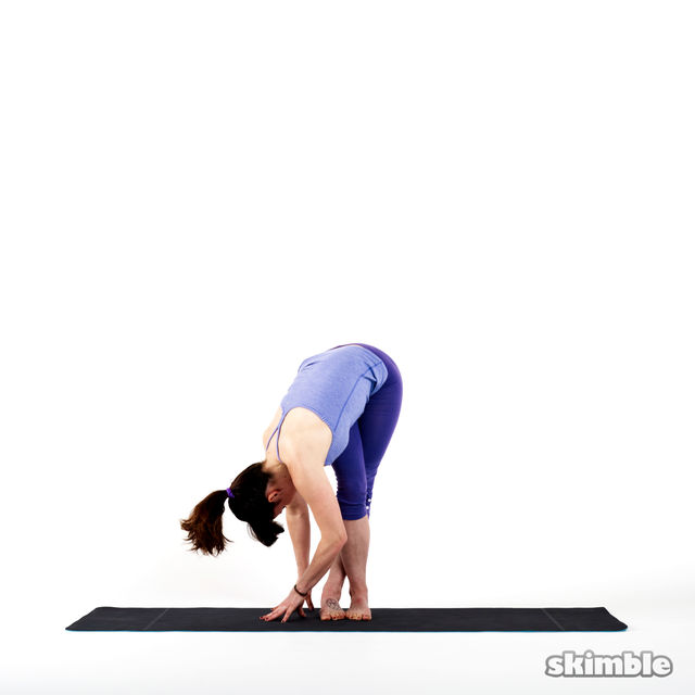 How to do: Right IT Band Stretch - Step 2