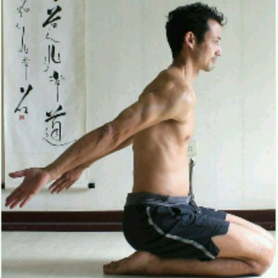 Arms Rearwards Shoulder Rotations