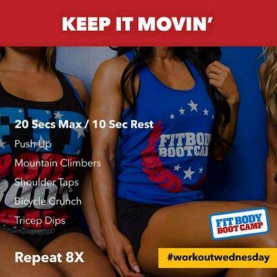 Keep It Moving - Tabata