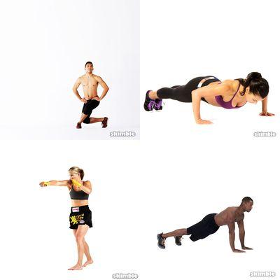 Upper body strength&tone