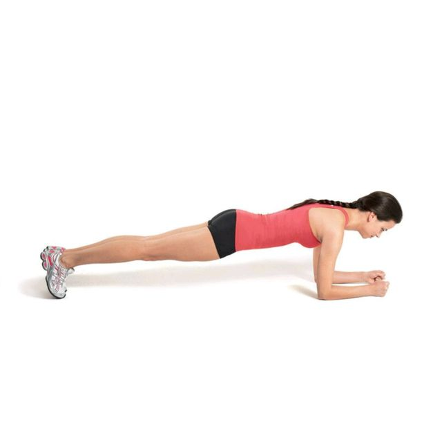 How to do: Forearm Plank - Step 1