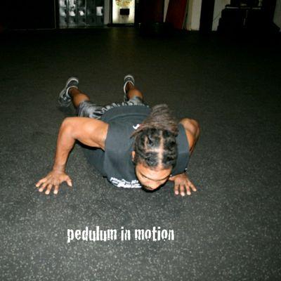 Pendulum Push Ups