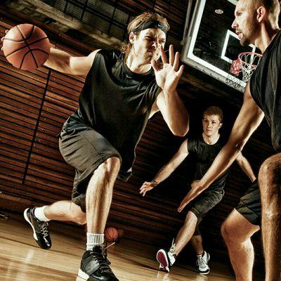 Basketball Pickup Game Day