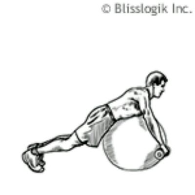 Ball Rear Deltoid Row