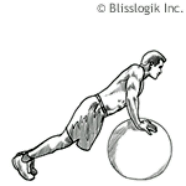 How to do: Ball Scapular Protraction - Step 1