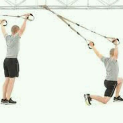 Split Squat Y Fly