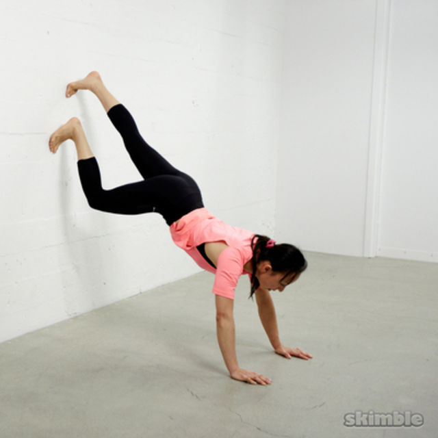 How to do: Wall Plank - Step 1