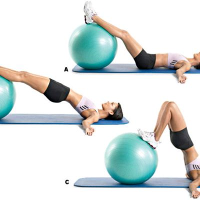 Ball Hip Raise