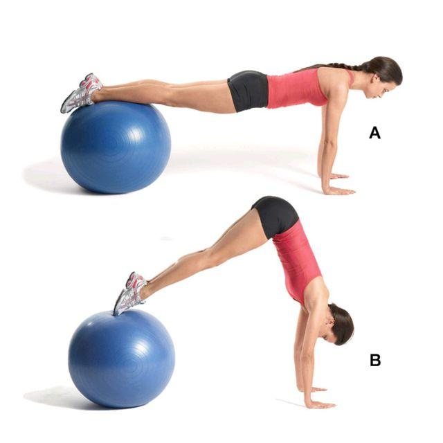 How to do: Ball Pike - Step 1