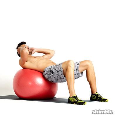 Ball Crunches