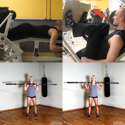 Gym-Legs and Glutes