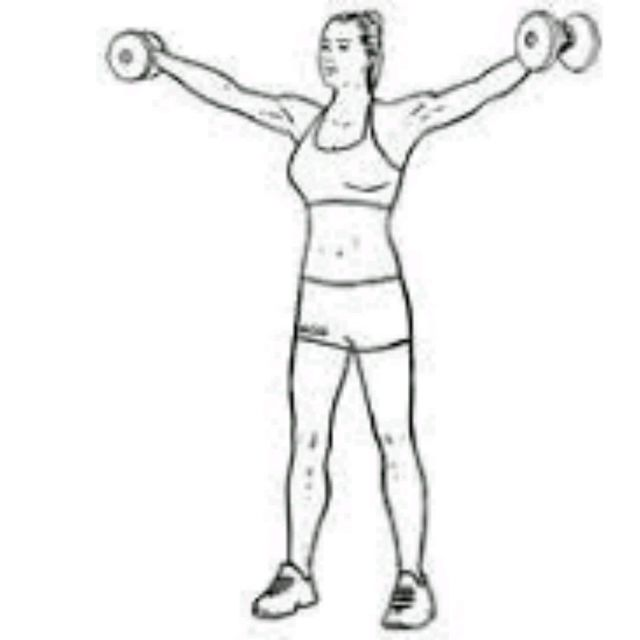 side superset front lateral raise - exercise how-to