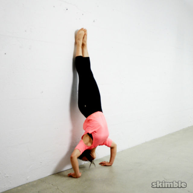 How to do: Handstand Push-ups - Step 1
