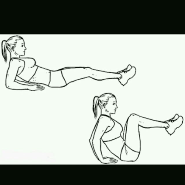 How to do: Leg Pull In - Step 1