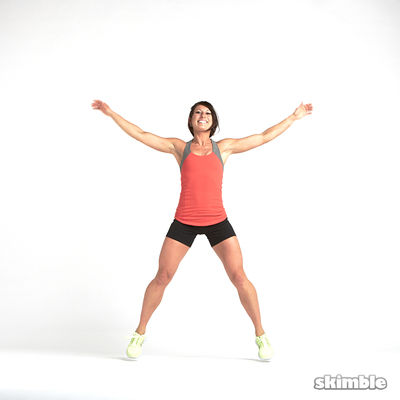 Jumping Jacks Touch
