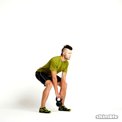 Kettlebell Deadlifts
