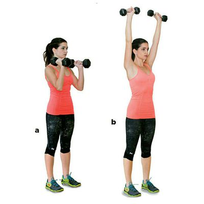 Hammer Curl To Press
