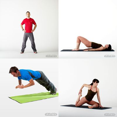 evening routine  workout collection  workout trainer