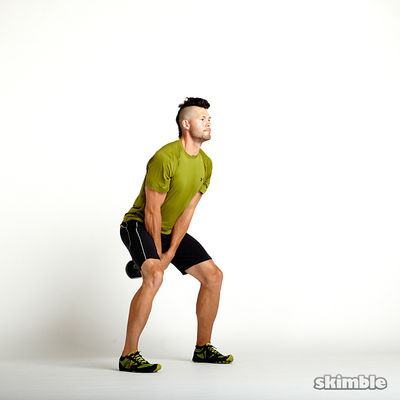 Kettlebell Swings x 25