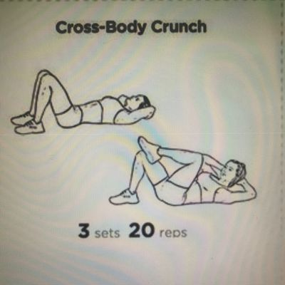 Cross-body Crunch