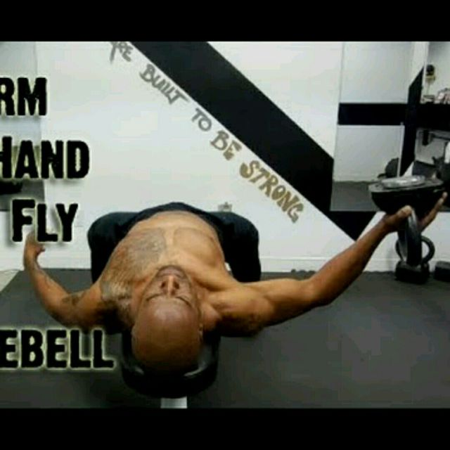 How to do: Kettlebell Chest Flies - Step 1