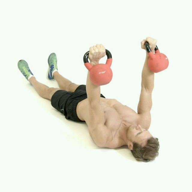 How to do: Kettlebell Chest Presses - Step 3