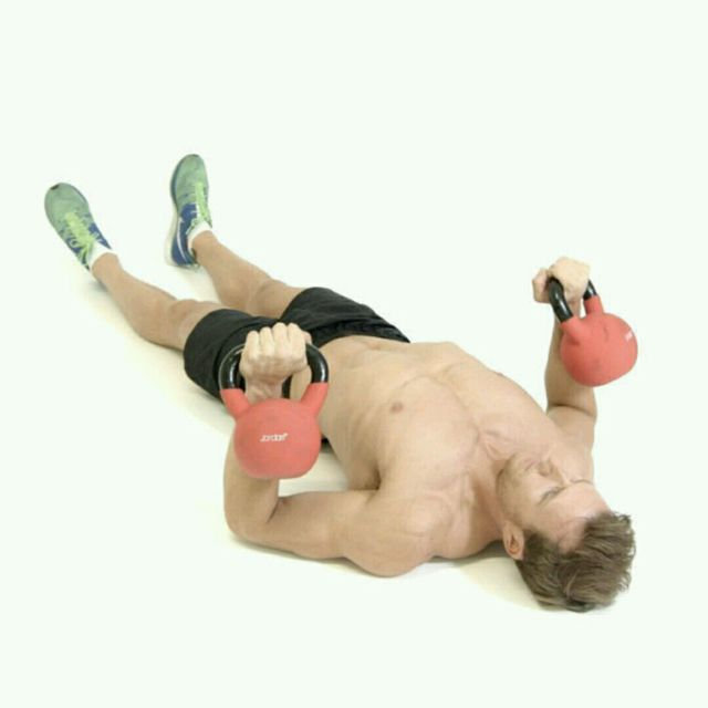 Kettlebell  Time Chest&Triceps Day