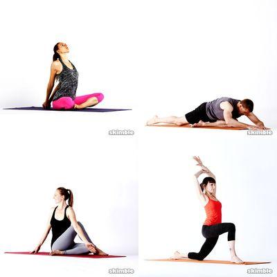 Yoga och stretch