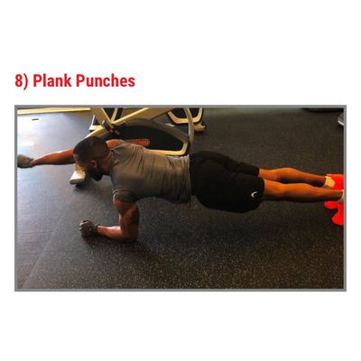 Elbow Plank Punch