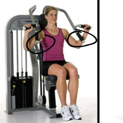 Seated Shoulder Press Part 2