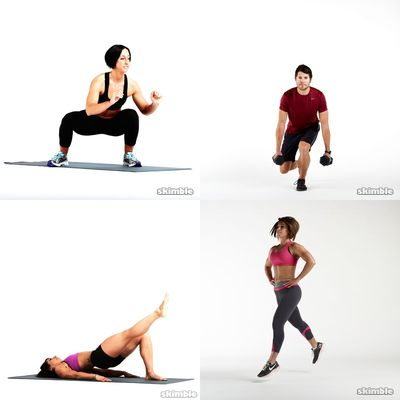 Glutes & Lower Body