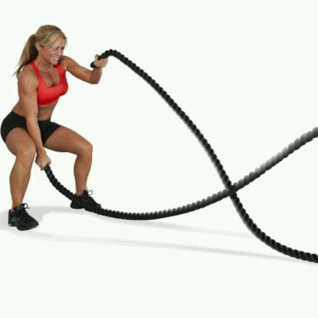 How to do: Battle Rope - Step 1