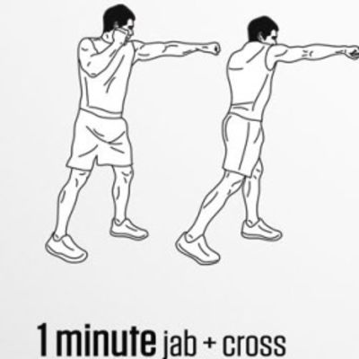 Jab+cross