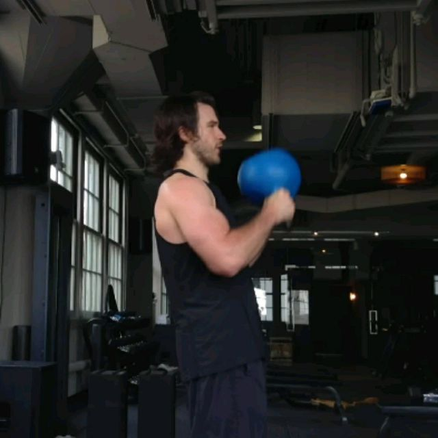 How to do: Kettlebell Pullovers - Step 1