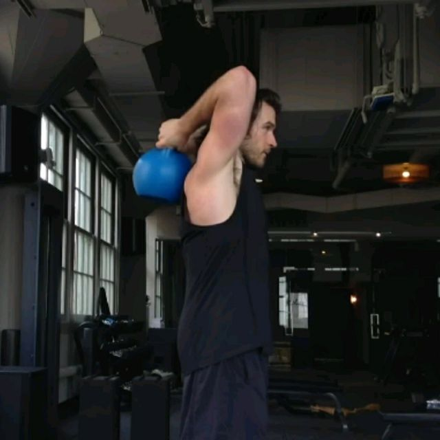How to do: Kettlebell Pullovers - Step 2